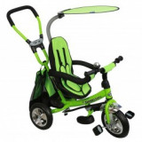 Tricicleta 3-5 Ani Scaun Reversibil Safari Green - Tricicleta copii