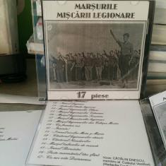 CD IMNURILE MIȘCĂRII LEGIONARE 17 PIESE MIȘCAREA LEGIONARĂ LEGIUNEA GARDA DE FIE - Muzica Corala Altele