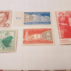 Germania democrata 1960/ diverse/ 8 serii MH/MNH - Timbre straine, Nestampilat