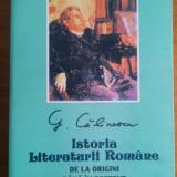 Istoria Literaturii Romane - G.Calinescu