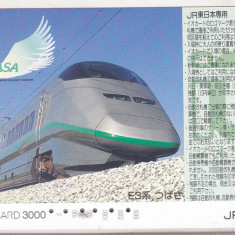 Bnk card Japonia - cartela de tren iO-Card 3000 - Tsubasa