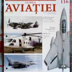 Enciclopedia Lumea Aviatiei nr. 1 - 116 inclusiv + 7 Bibliorafturi + Separatoare - Revista auto