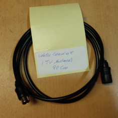 Cablu Coacial (TV Antena) 90 cm, Accesorii cabluri