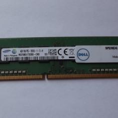 Ram 4 Gb DDR3/ Intr-o placa 1600 Mhz / Samsung PC3-12800U/Testat (3L/8A) - Memorie RAM