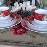 Set de0sebit mic dejun cu ingeri portelan