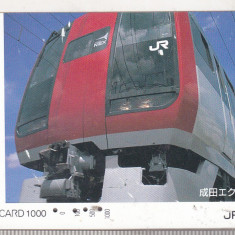 Bnk card Japonia - cartela de tren iO-Card 1000