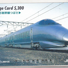 bnk card Japonia - cartela de tren Orange Card 5300