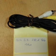 Cablu Jack 2.5 - 2RCA Tata 1, 5m