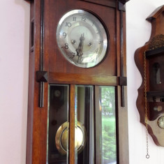 Ceas de perete cu pendula Gustav Becker 1915