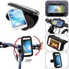 Suport Telefon Universal Marime XL pt Bicicleta – Motocicleta Impermeabil C150 - Suport telefon bicicleta