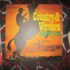 Vinil country lot x - Muzica Country electrecord