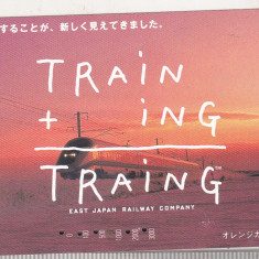 Bnk card Japonia - cartela de tren Training 3000