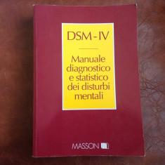 Carte medicina - Manuale diagnostico e statistico dei disturbi mentali / 958 pag