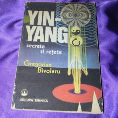 Yin-Yang secrete si retete - Gregorian Bivolaru (f0590 - Carte dezvoltare personala