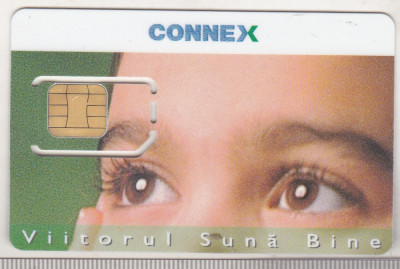 bnk card Cartela SIM Connex - stare perfecta foto
