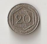 ITALIA 20 CENT. 1918, Europa, Cupru-Nichel