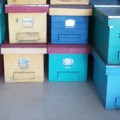 Cutii de stup, rame crescute - Apicultura