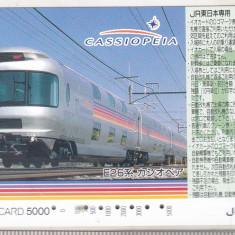 Bnk card Japonia - cartela de tren iO-Card 5000 - Cassiopeia