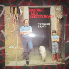 Vinil highways and country roads lot x - Muzica Dance Altele
