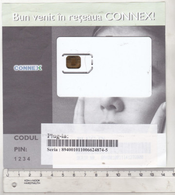 bnk card Cartela SIM Connex - stare perfecta foto