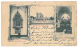 1123 - Litho, SEBES ALBA - old postcard - used - 1904, Circulata, Printata