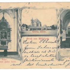1123 - Litho, SEBES ALBA - old postcard - used - 1904 - Carte Postala Transilvania pana la 1904, Circulata, Printata