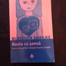 Boala Ca Sansa - Ruediger Dahlke - Carte Psihiatrie