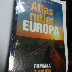 ATLAS RUTIER EUROPA - Reader's Digest - Ghid de calatorie