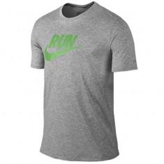 Tricou Nike Run Swoosh original Original-Tricou Barbat-Marimea S - Tricou barbati Nike, Marime: S, Culoare: Din imagine, Maneca scurta