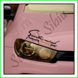 Sticker Far-Sports Mind-BMW E36_Tuning Auto_Cod: FAR-029_Dim: 25 cm. x 9.2