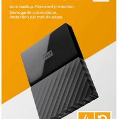 HDD extern Western Digital WD, 4TB, My Passport, 2, 5