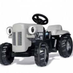 Tractor Copii Rolly Toys Little Grey Fergie Cu Remorca