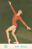 Carte postala Nadia Comaneci – campioana olimpica absoluta Montreal 1976