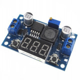 DC-DC converter step-down, IN:4-40V, OUT:1.25-37V, ( 2A ) LM2596S 101 voltmetru