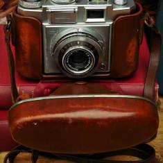 APARAT VECHI DE FOTOGRAFIAT GERMAN, ZEISS IKON CONTINA, HUSĂ ORIGINALĂ DE PIELE! - Aparat de Colectie