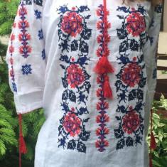 Ie Nationala Romaneasca - Bluza dama, Marime: 34, Culoare: Albastru