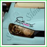 Sticker Far-Sports Mind-VW Tuareg_Tuning Auto_Cod: FAR-037_Dim: 25 cm. x 9.2
