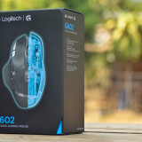 Mouse gaming wireless LOGITECH G602, 250 - 2500 dpi, 20G,negru SIGILAT