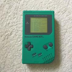 Nintendo Game Boy TM ecran alb-negru 1989 DMG-01 + caseta cu 32 jocuri - Consola Nintendo
