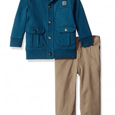 CALVIN KLEIN set jacheta si pantaloni baiat 12 luni