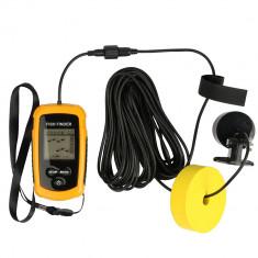 Sonar NOU SIGILAT portabil, Fish Finder cu fir FishFinder undita pescut - Sonar Pescuit