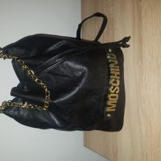 Geanta Moschino - Geanta Dama Moschino, Culoare: Negru, Marime: Mare