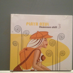 PLAYA AZUL - Flamenco Chill 3 (2004/Black Flame rec) - CD NOU/SIGILAT/ORIGINAL - Muzica Chillout universal records