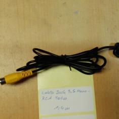 Cablu Jack 3.5 Mono - RCA Tata 1.4m - Cablu Camera Video