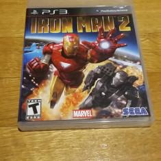 PS3 Iron Man 2 Marvel - joc original by WADDER - Jocuri PS3 Sega, Actiune, 12+, Single player