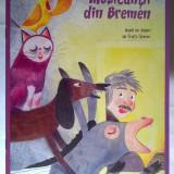 Muzicantii din Bremen dupa un basm de Fratii Grimm - Carte de povesti
