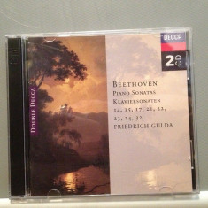 Beethoven - Piano Sonatas 14, 15, 17.....2CD SET(1994/DECCA/GERMANY) - CD ORIGINAL - Muzica Clasica decca classics