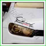 Sticker Far-Sports Mind-VW Passat_Tuning Auto_Cod: FAR-045_Dim: 25 cm. x 9.2
