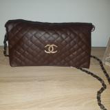 Genti chanel - Geanta Dama Chanel, Culoare: Maro, Marime: Medie