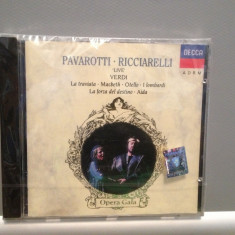 PAVAROTTI/RICCIARELLI - VERDI (1990/DECCA REC/RFG) - CD NOU/SIGILAT/ORIGINAL - Muzica Opera decca classics